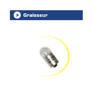 Ampoule graisseur - 12 V - 10 W x 10