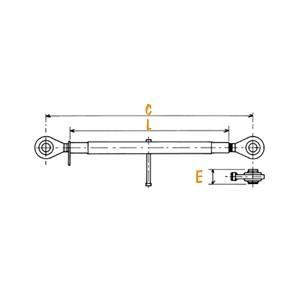 Barres de poussée N° 2  1105176
